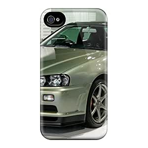 Hot R34 Nur First Grade Tpu Phone Case For Iphone 4/4s Case Cover