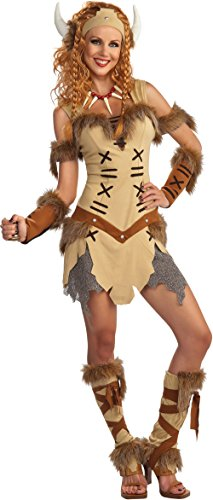 Rubie's Women's Viking Princess Costume, As Shown, Standard ()