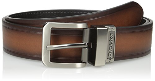 Dickies Men's Leather 1 1/2 in.Reversible Bridle Belt