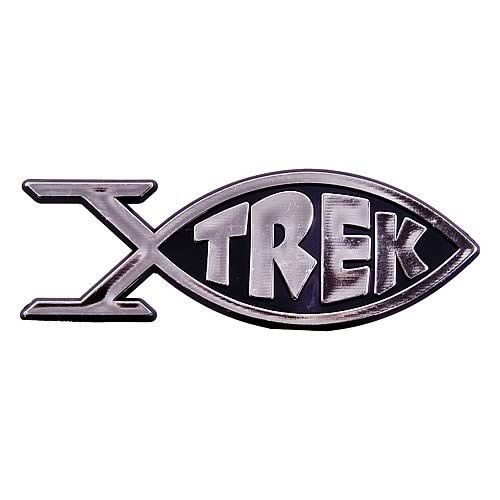 (Star Trek Roddenberry Trek Fish Emblem)