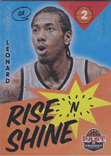 2012-13 Panini Past and Present - Kawhi Leonard - Rise N Shine - NBA Basketball Rookie Card - RC Card #12