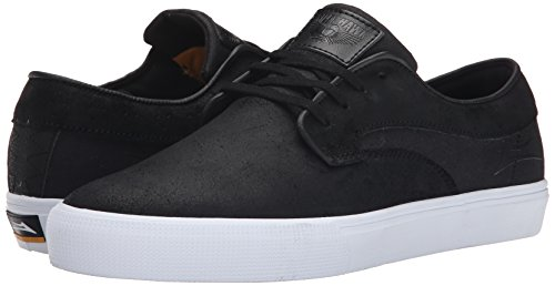 LAKAI Skateboard Shoes RILEY HAWK BLACK OILED Size 12
