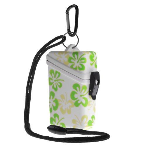 Witz Flower Keep-It Safe Waterproof Case, (Safe Dry Case Green)