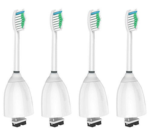 (WyFun Replacement Toothbrush Heads for Philips Sonicare E-Series fits Elite, Essence, Advance, CleanCare, Xtreme, eSeries, HX7022, HX7023, HX7026,HX7030 4)