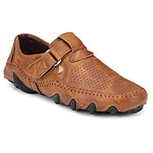 Big Fox Men's Perforated Roman Sandals