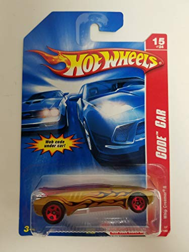 Whip Creamer II Gold Color Code Car 15 of 24 Hot Wheels diecast car No. 099