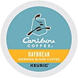 Caribou Coffee Keurig Single-Serve K-Cup Pod, Daybreak Morning Blend Light Roast Coffee, 72 Count (6 Boxes of 12 Pods) (Pack May Vary)