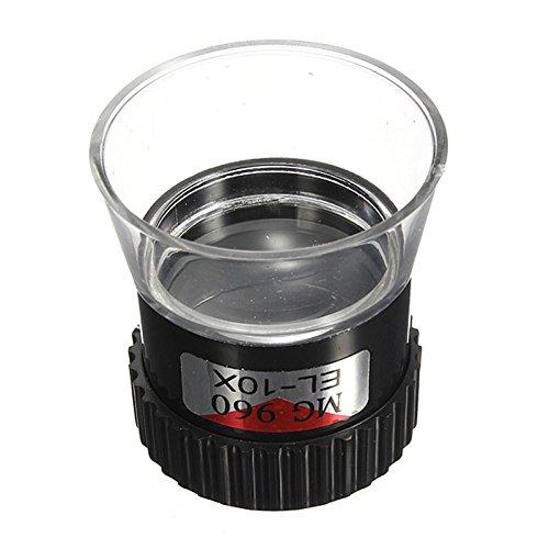 SODIAL(R) 1 pcs 10x moncular magnigier eyeglass magnifying eye glass loupe lens tool