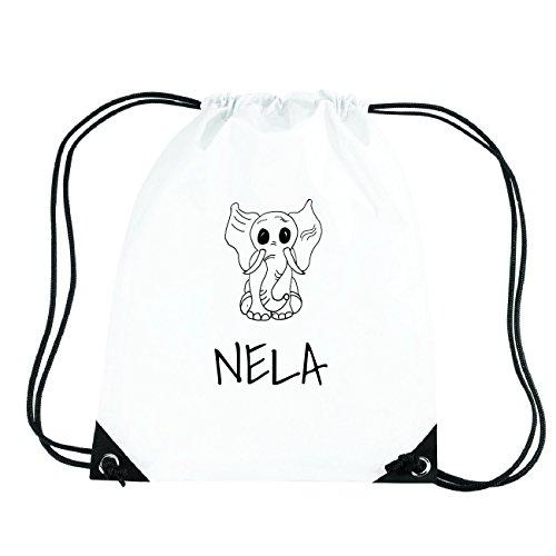 JOllipets NELA Turnbeutel Sport Tasche PGYM5807 Design: Elefant F63LMIySic