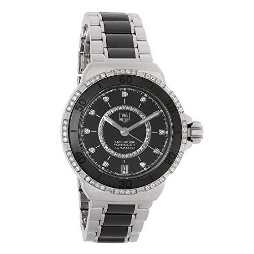 TAG Heuer Women's THWAU2212BA0859 Formula 1 Diamond-Accented Stainless Steel Automatic Self-Wind Watch