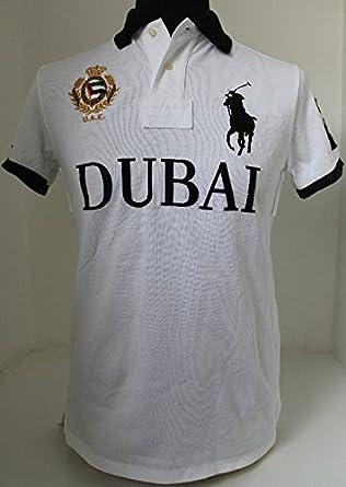 Ralph Lauren para Hombre O Polo Dubai LOS Eau Emiratos Blanco ...