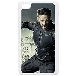 Wolverine Ipod Touch 4 White Fashion Cell Phone Case