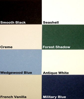 Logan Graphic M102-6 Palette Pre-Cut Mats44; Wedgewood Blue - 9 X - Logan B