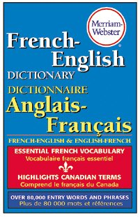 1 X MERRIAM WEBSTERS FRENCH-ENGLISH by Merriam Webster