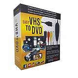 TopYart VHS to Digital Converter -[Upgrade] USB 2.0 Video Audio Capture Recorder Adapter Card V8/Vi8 VHS to DVD Converter TV DVR VCR CCTV Camcorder to PC for Windows