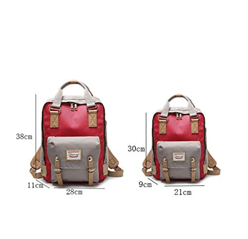 scuola Donna in Shopper casual Zaini Skitor Patchwork per per piccole nylon Rot per laptop Girl Fashion la Zaino scuole Impermeabile 1Ixddwpqv