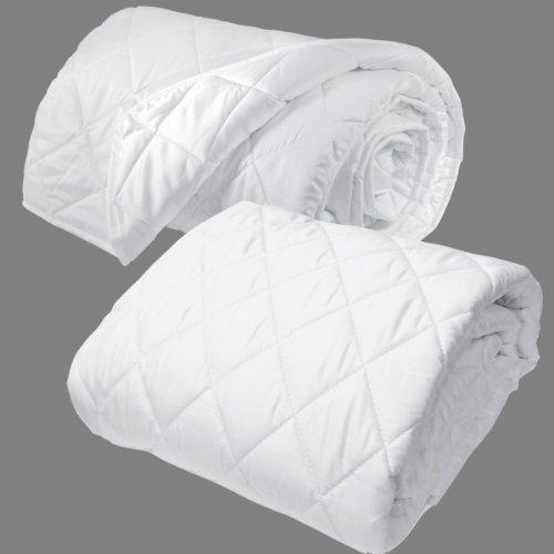 Natura Sleep Envelope ( Washable Wool Comforter And Washabale Waterproof Mattress Protector (King)