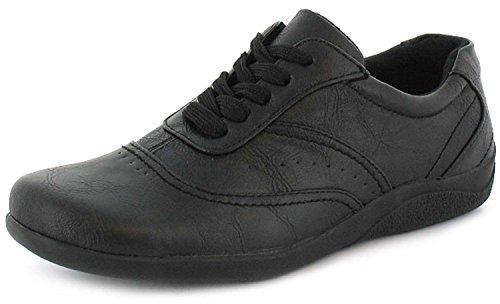 muy C Dama Cordones para de Zapatos Estilo Casual qwYCC4