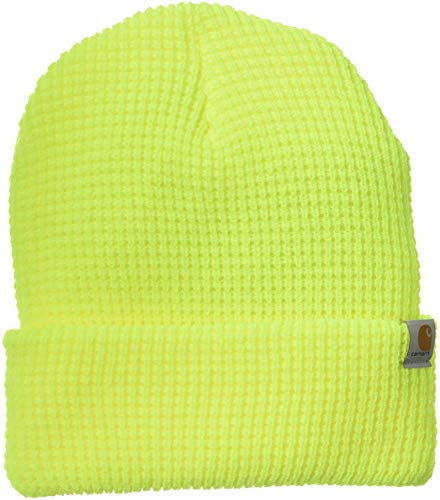 Carhartt Men's Woodside Hat, Brite Lime One -