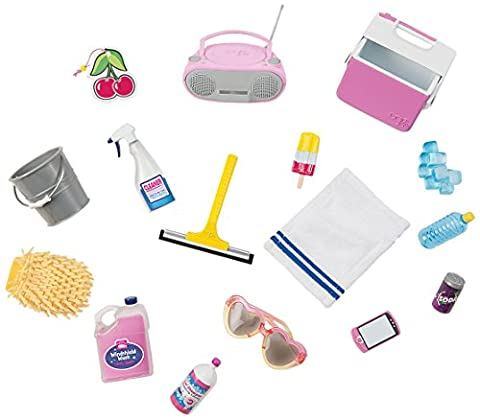 Our Generation Pegged Accessory - Car Wash Set