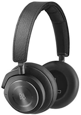 Bang & Olufsen Beoplay H9i Wireless Bluetooth Over-Ear Headphones with Active Noise Cancellation, Transparency Mode and Microphone – Black – 1645026