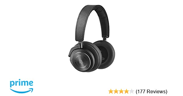 ea2b94661cd Amazon.com: Bang & Olufsen Beoplay H9i Wireless Bluetooth Over-Ear  Headphones with Active Noise Cancellation, Transparency Mode and Microphone  – Black ...