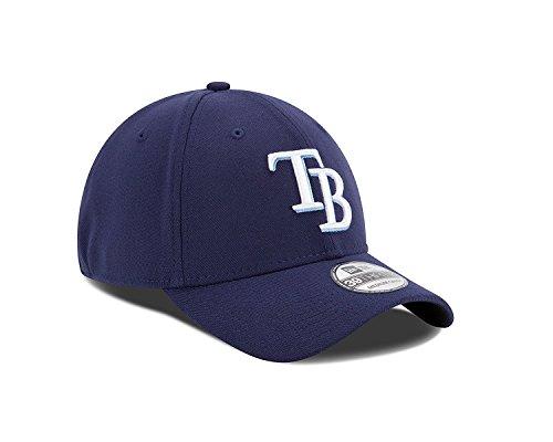 MLB Tampa Bay Rays Team Classic Game 39Thirty Stretch Fit Cap, Blue, Medium/Large ()