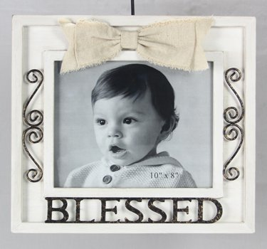 Amazon.com - Wood 8X10 Blessed Photo Frame -