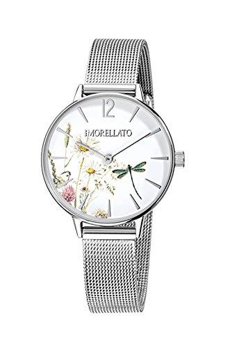 MORELLATO Reloj Analógico para Mujer de Cuarzo con Correa en Acero Inoxidable R0153141507: Amazon.es: Relojes