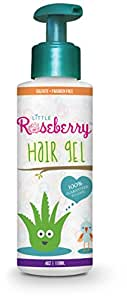 Hair Gel for Kids | Light Hold | Chemical Free | Made with Organic Aloe Vera and Vitamins | Safe on Babies, Toddlers, Men and Women | Always Paraben, Sulfate & Fragrance Free | Made in USA (1 Unit)