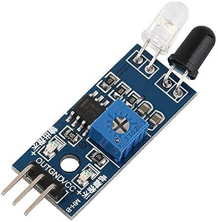 Módulo de sensor de evasión de obstáculos infrarrojo infrarrojo ...