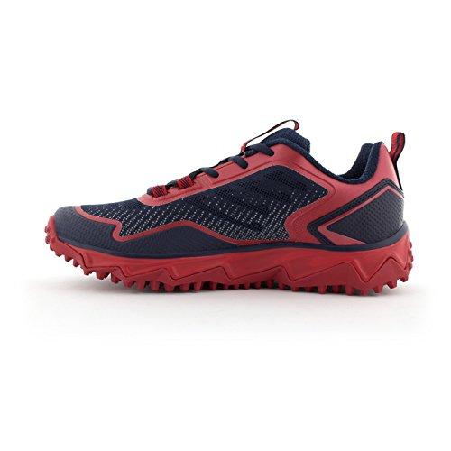 Scarpe Da Tennis Turbo Da Uomo Boombah - 13 Opzioni Di Colore - Più Taglie Navy / Rosso