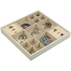 Home Basics DR49189 (Weave Jewelry Organizer, Jumbo