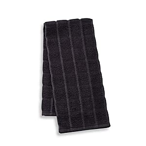 High Quality Kitchensmart Solid Kitchen Towel In Caviar