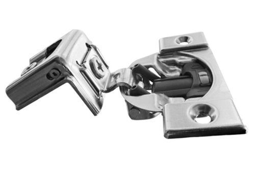 Pro Pack of 20Pcs, Compact Blumotion 39C (New Bmn) Hinge & Plate, For 1-3/8 Overlay, Wraparound, Screw-On by handyct