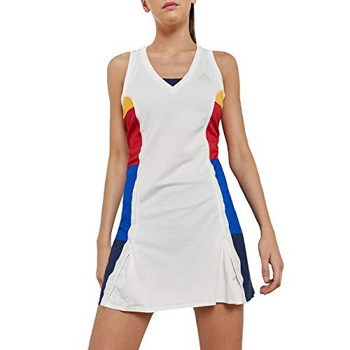 adidas Performance Womens New York Colourblock Tennis Dress - M ()