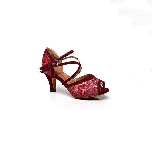 KAIRRY - Sandalias de vestir para mujer Red