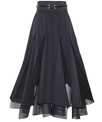 High Femmes Jupe Ample Cosmos Noir Noir