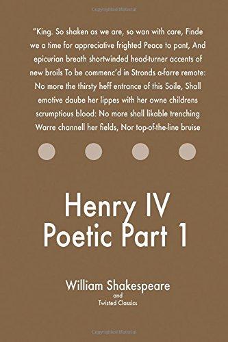 Download Henry IV Poetic Part 1 ebook