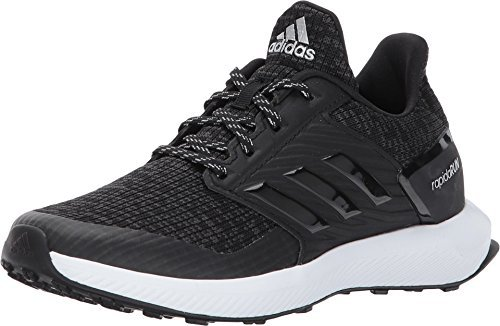 adidas Kids Unisex RapidaRun Lux C (Little Kid) Black/White 2 Little Kid M by adidas