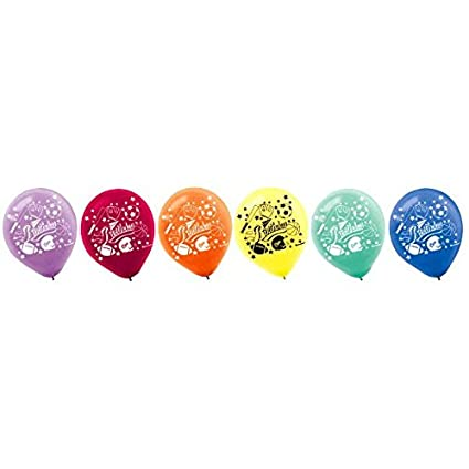 Amazon Com Little Champs Printed Latex Balloons Pack Of 20 Party