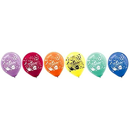 Little Champs Printed Latex Balloons|Pack of 20|Party Decor