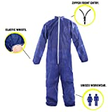 AMZ High Performance Coverall. Blue Adult Coverall