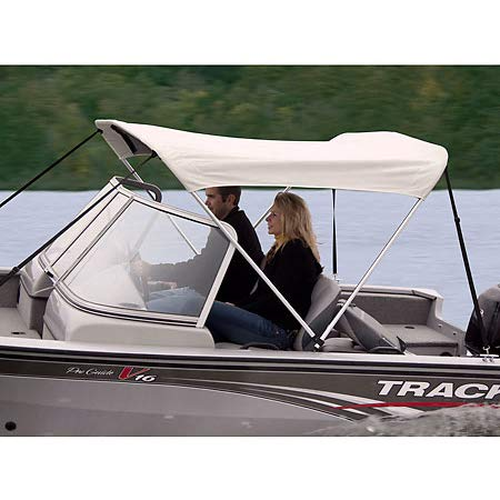 (Shademate Bimini Top White Vinyl Fabric/Boot Only, 2-Bow 5'6