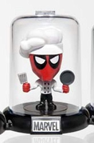 Marvel Deadpool Collectible Original Mini's Domez ~ Chef (Opened to Identify) (Dead Waiter Costume)