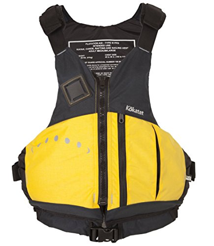 Kokatat Paddling Jacket (Kokatat UL Aries Yellow PFD Life Vest, Medium/Large)