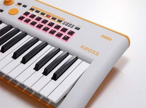 Korg Kross 2-61 61-key Synthesizer Workstation - Limited Edition Neon Orange/Gray