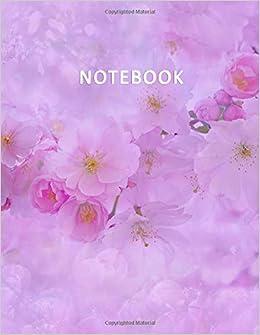 Fiori Viola Immagini.Notebook Quaderno Per Appunti Con 100 Pagine Bianche E Numerate