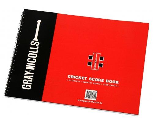 GRAY-NICOLLS 80 Innings Score-Buch