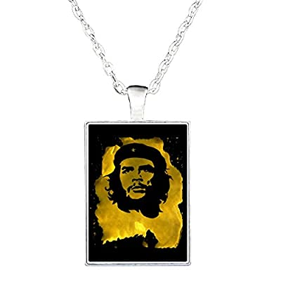 Che Guevara Revolutionary Life Funky Grunge Style Art Design - Necklace